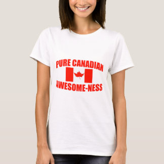T-shirt Impressionnant-ness canadien pur