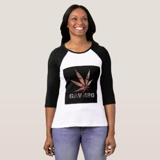 T-shirt imprimé par logo de déesse de GAV par le