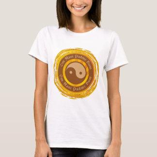 T-shirt Incantation tibétaine Yin Yang