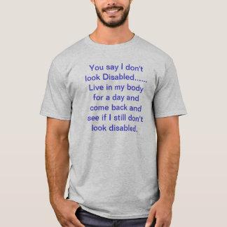 T-shirt Incapacités invisibles