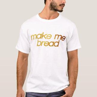 T-shirt Incitez-moi à paner ! J'ai faim ! Fin gourmet à la
