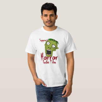 T-shirt indépendant de budget de film d'horreur de