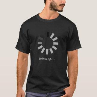 T-shirt Indicateur de chargement d'Ajax