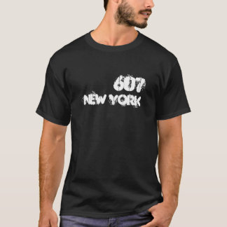 T-shirt Indicatif régional de New York 607