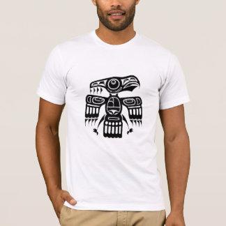 T-shirt indigène d'art