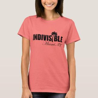 T-shirt indivisible de femmes de MIAMI - logo de