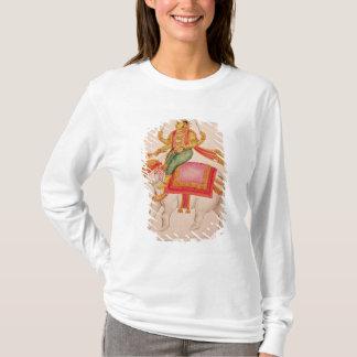 T-shirt INDRA, Dieu des tempêtes, montant sur un éléphant