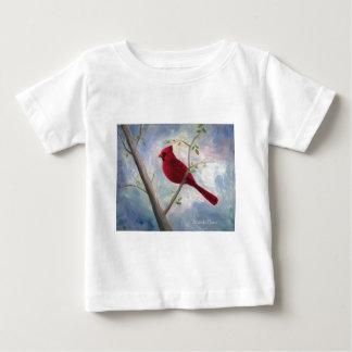 T-shirt infantile cardinal