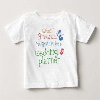 T-shirt infantile de bébé de wedding planner