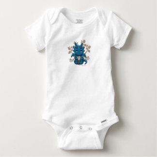 T-shirt infantile de combinaison de bébé de dragon