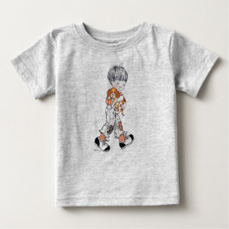 "T-shirt infantile de ""Finn"" de Sarah Kay"