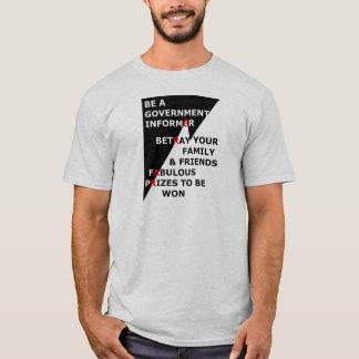 T-shirt Informateur de gouvernement