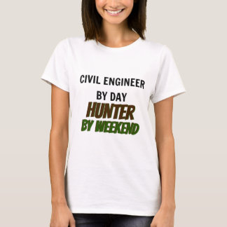 T-shirt Ingénieur civil par le chasseur de jour par