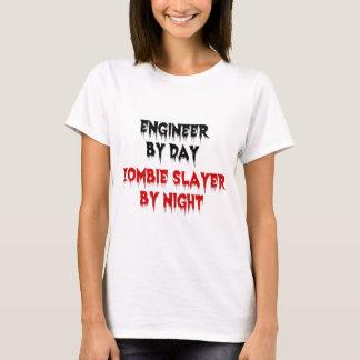 T-shirt Ingénieur par le tueur de zombi de jour par nuit