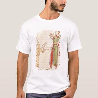 """T-shirt Initiale """"H"""" sous forme de deux prestidigitateurs"""