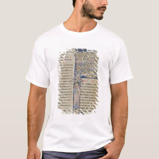 T-shirt Initiale 'P de Historiated