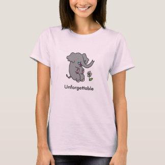 T-shirt inoubliable d'éléphant