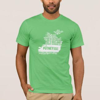 T-shirt Inscription en Irlande dans des couleurs multiples