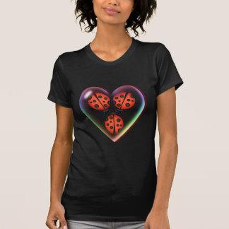 T-shirt INSECTE d'AMOUR et BULLE de COEUR par SHARON