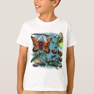 T-shirt Insectes