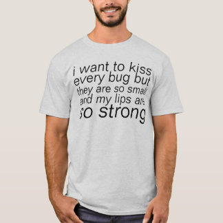 T-shirt insectes de baiser