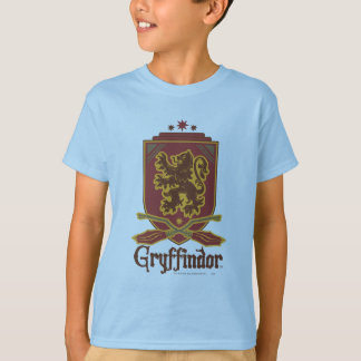 T-shirt Insigne de Harry Potter | Gryffindor QUIDDITCH™