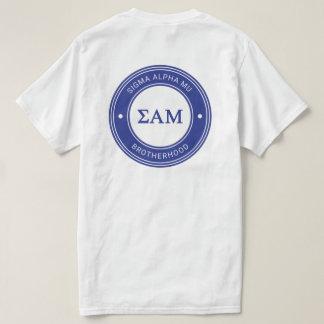 T-shirt Insigne de la MU | d'alpha de sigma