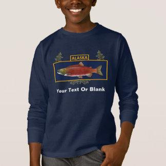 T-shirt Insigne de pêcheur de combat de l'Alaska