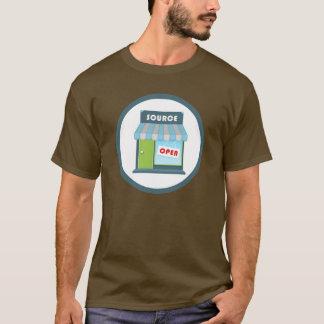 T-shirt Insigne d'Open Source