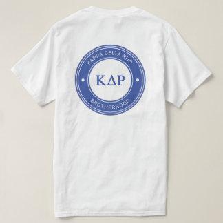 T-shirt Insigne du Rho | de delta de Kappa