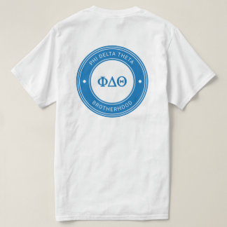T-shirt Insigne du thêta | de delta de phi