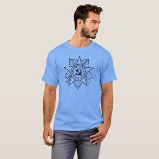 T-shirt Insignes communistes marteau et chemises de