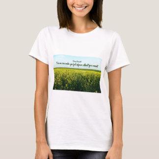 T-shirt Inspiration par Eleanor Roosevelt