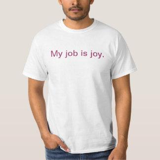 T-shirt inspiré -- joie