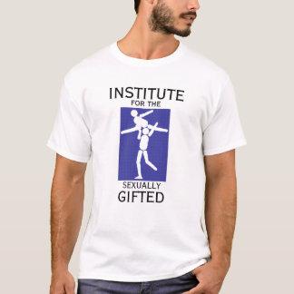 T-shirt INSTITUT pour SEXUELLEMENT le DOUÉ - INSTRUCTEUR
