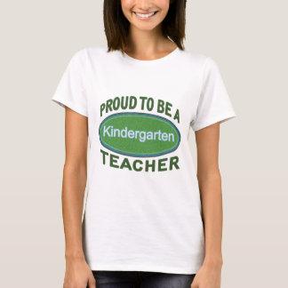 T-shirt Institutrice gardienne fière