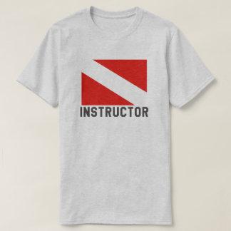 T-shirt Instructeur de plongée à l'air