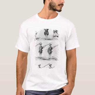 T-shirt Instructions pour un foret de baïonnette