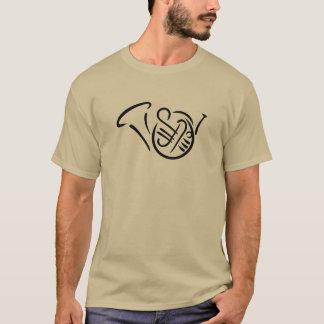 T-shirt Instrument de cor de harmonie