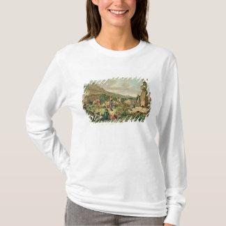 T-shirt Insulaires et monuments d'île de Pâques
