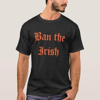 T-shirt Interdisez l'irlandais (l'édition protestante)