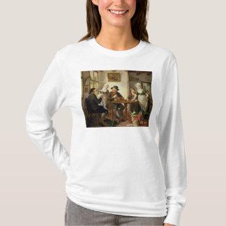 T-shirt Intérieur de cottage