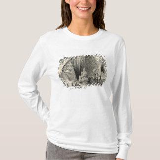 T-shirt Intérieur de la grotte d'Antiparos