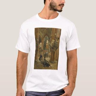 T-shirt Intérieur de l'église de Saint-Nicolas, Berlin