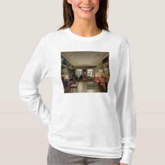 T-shirt Intérieur d'un manoir, 1830s