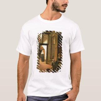 T-shirt Intérieur d'une Chambre néerlandaise (huile sur le