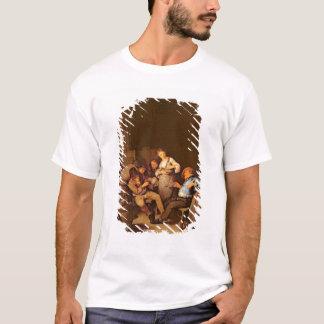 T-shirt Intérieur d'une taverne néerlandaise
