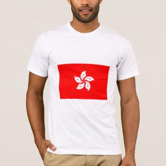 T-shirt International de DRAPEAU de Hong Kong