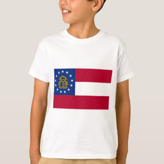 T-shirt International de DRAPEAU de la Géorgie