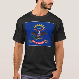 T-shirt International de DRAPEAU du Dakota du Nord